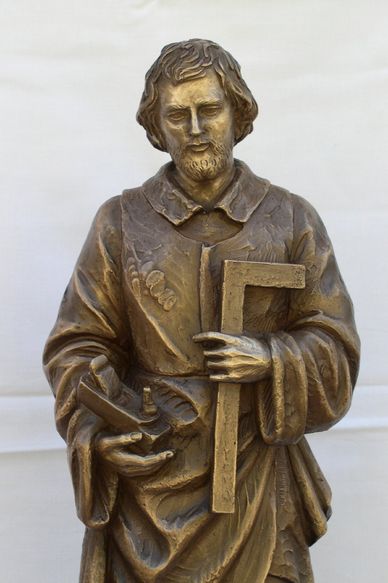Saint Joseph in bronze