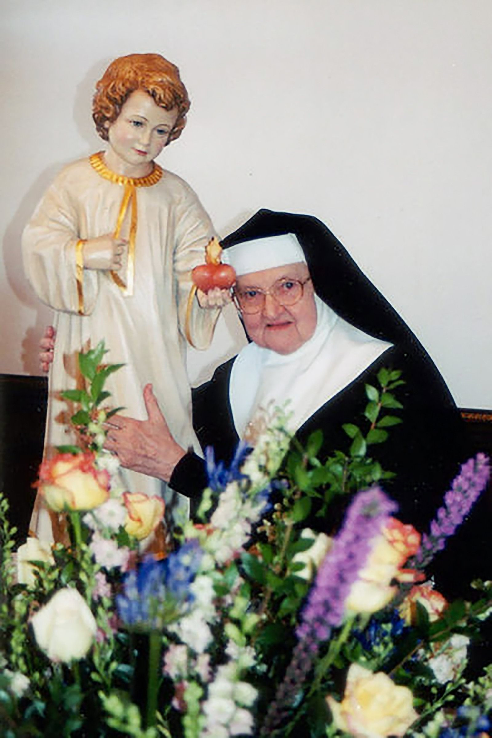 Mother Angelica with Child Jesus